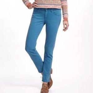 Anthropologie Pilcro Letterpress Stet Teal Jeans